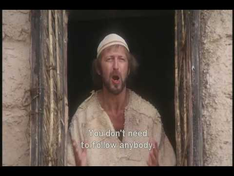 "Life Of Brian (1979) - clip: ""You're all individuals"""