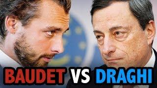 Thierry Baudet (FvD) vs. Mario Draghi (ECB) over einde van de Euro