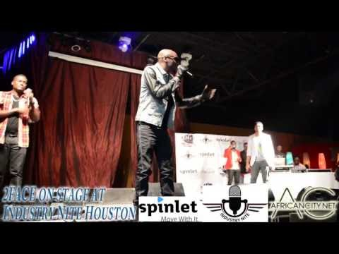 2FACE on stage at Industry Nite Houston