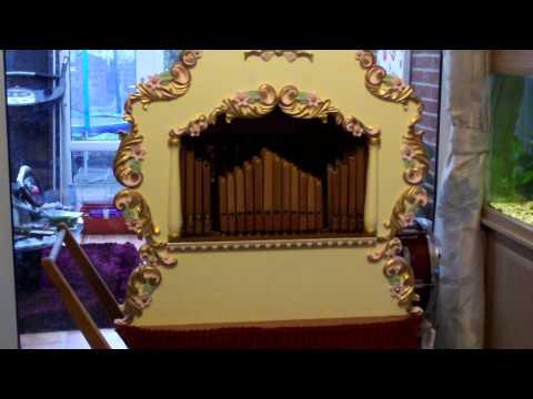 Alan Pell 30 note street organ plays Tulips from Amsterdam