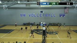 Highlights: Volleyball vs Olathe East and Lawrence Free State-September 11 2018