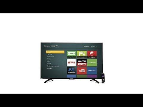 """Hisense 32"""" Smart LED HDTV w/BuiltIn Roku"""