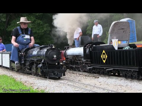 Buckeye Limited: Erie Pacific, Mikado, & H10 Live Steam Action