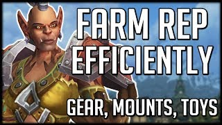 How To EFFICIENTLY Farm Reputation In BFA | WoW Battle for Azeroth