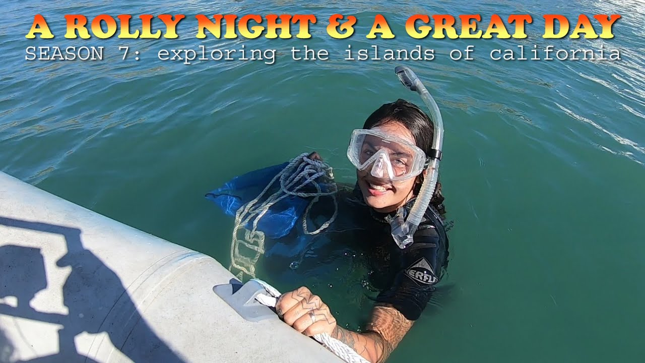 A Rough Night on the Hook and Camille Rescues Our Stern Anchor at Catalina Island