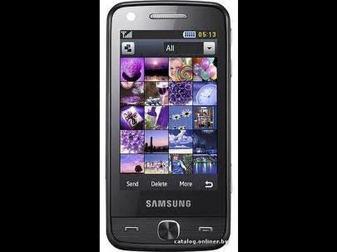 flash arabic Samsung M8910