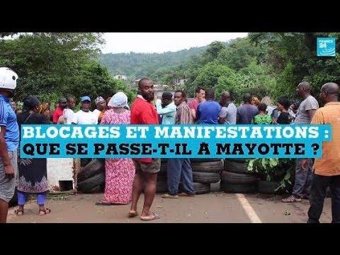 Blocages et manifestations : que se passe-t-il à Mayotte ?