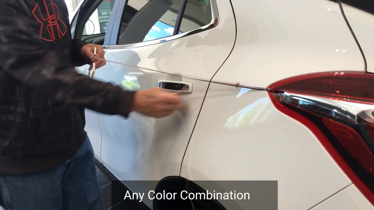 Pinstriping Your Vehicle At O Neil Buick Gmc