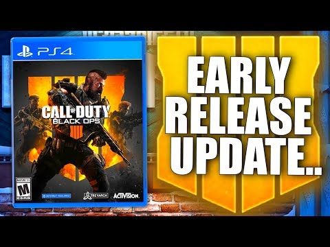 BLACK OPS 4 SERVERS ARE LIVE & Early Release Update (RIP Digital Users...)