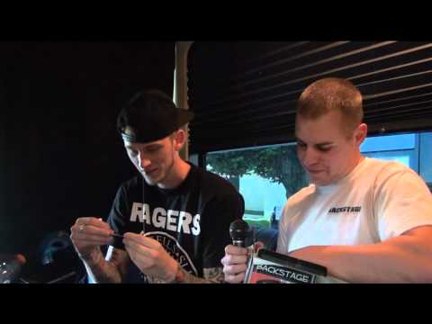 Machine Gun Kelly Interview - Omaha Civic Auditorium - Backstage Entertainment