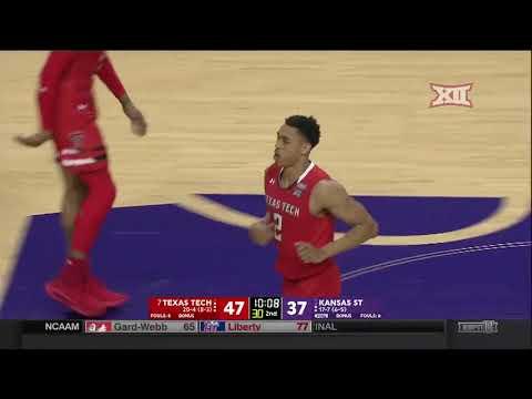 Texas Tech vs Kansas State Men's Basketball Highlights