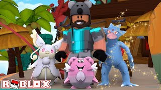 MEGA AUDINO + BLISSEY + SHINY GOLDUCK!! | Pokémon Brick Bronze [#79] | ROBLOX