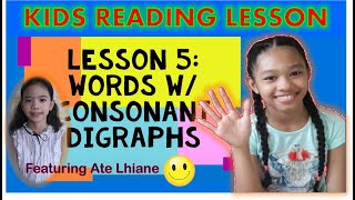 How to read Words w/ Consonant Digraphs