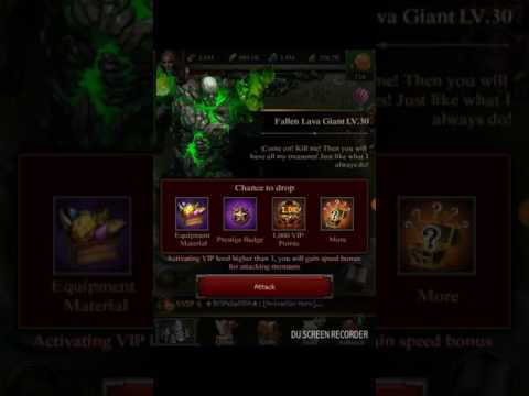 HOW TO KILL MONSTER 30 CLASH OF KINGS