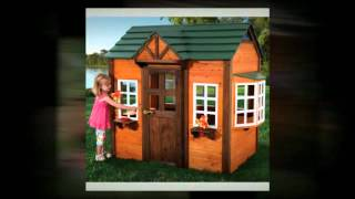 Wooden Kids Playhouse -- The Best Addition To Any Homes Decor!