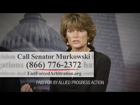 Senate Could Let Equifax Off the Hook! Contact Sen. Murkowski Today!