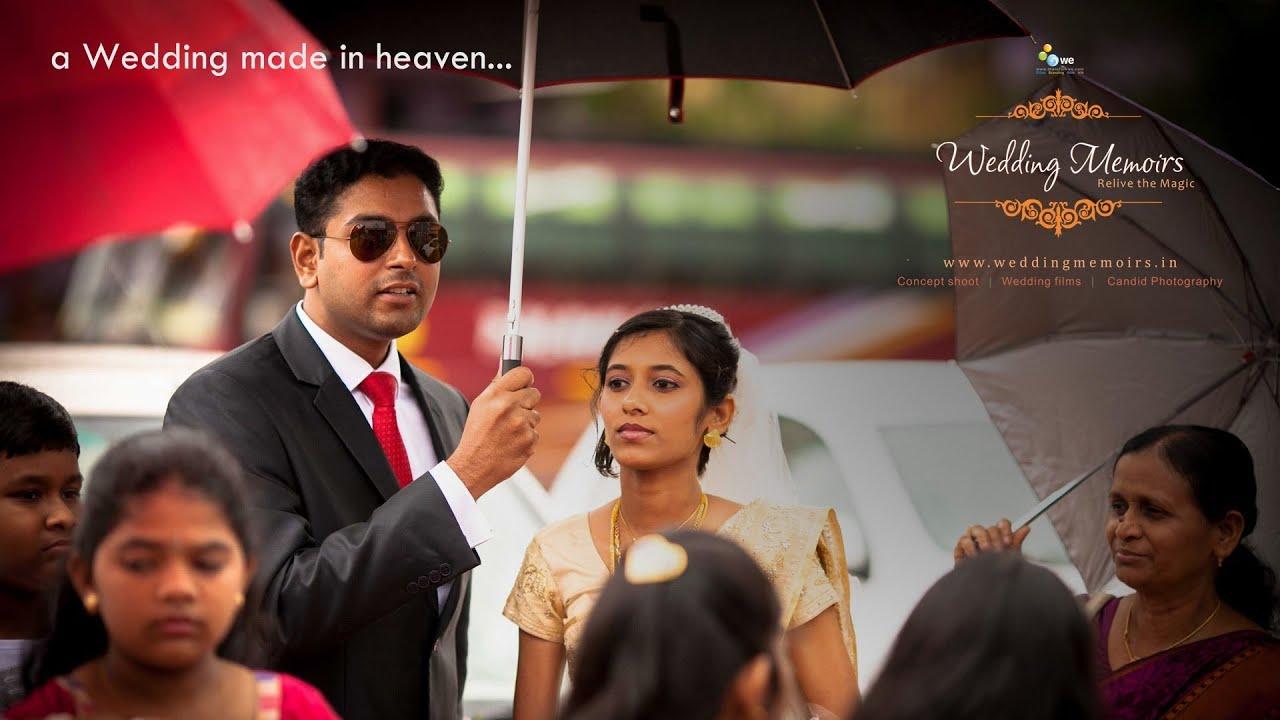 I DO - {Tiju + Nivya} - The Great Kerala Christian Wedding - YouTube