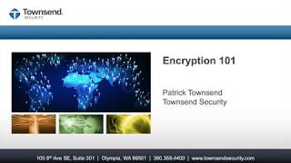 Gambar cover Encryption 101 - Introduction to Encryption and Key Management