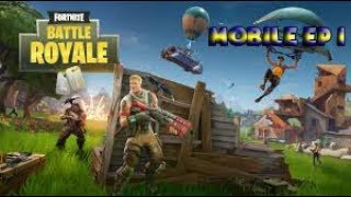 Fortnite Mobile Gameplay #1 Free Codes Giveaway