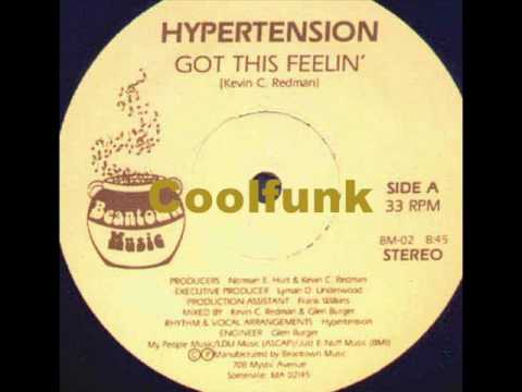 "Hypertension - Got This Feelin' (12"" Funk 1982)"