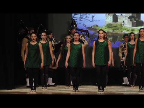 Helen Keith School of Ballet - Into Motion (Fight Song/Amazing Grace)