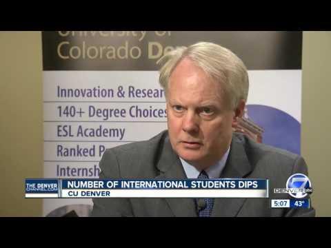 CU Denver concerned about enrollment for international students