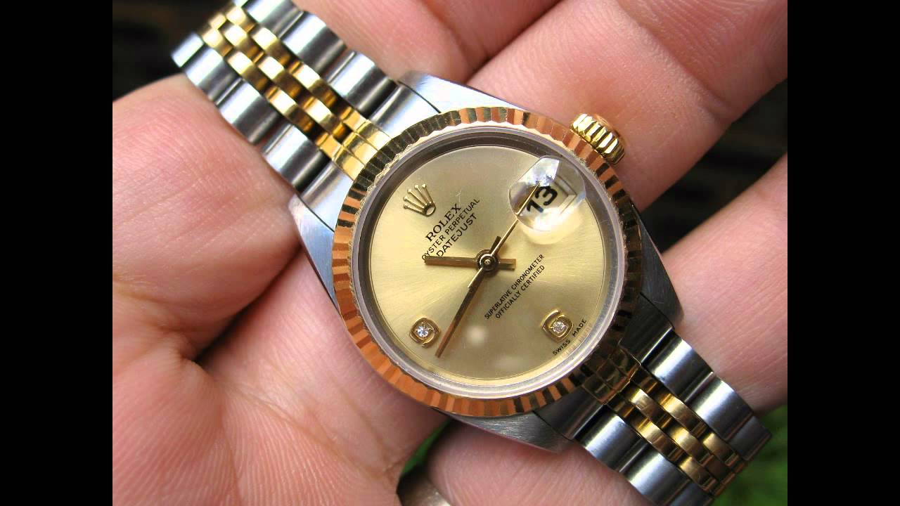 Fashion style Wrist Rolex watch for woman