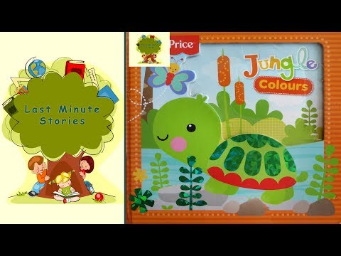 """Jungle colours"" - Children's books read aloud in English. Let`s learn colours together!"