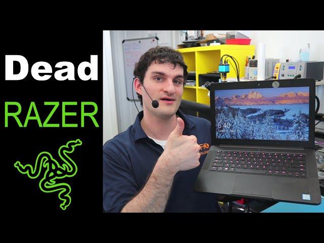How to Fix a Dead Razer Blade Laptop - Razer Motherboard Repair