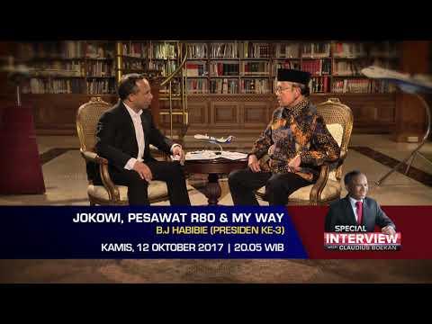 Special Interview BJ Habibie: Jokowi, Pesawat R80, dan My Way