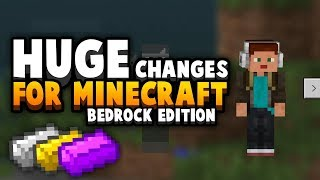 Two Huge Changes Coming To Bedrock, But Not Java