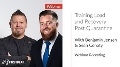 Training Load and Recovery Post Quarantine |Firstbeat Sports Webinar