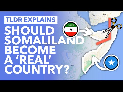 Africa's Newest Nation? Should Somaliland Become an Official Country? - TLDR News