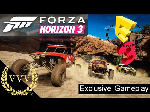 Forza Horizon 3 Gameplay E3 2016
