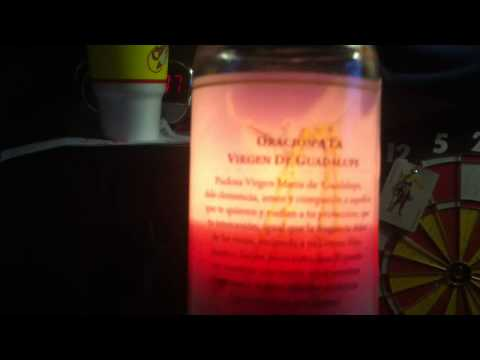 Virgen De Guadalupe perfume candle - YouTube