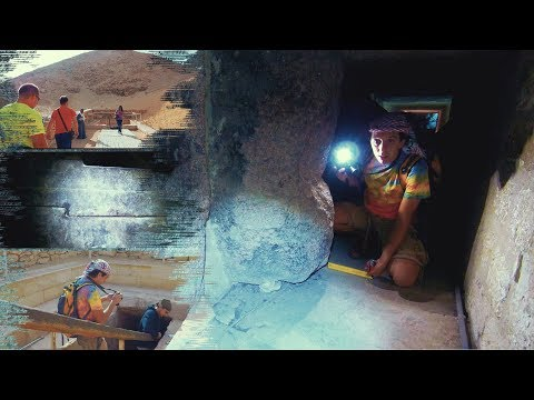 "Египет: Спуск исследователей ""ЛАИ"" в пирамиду Тети"