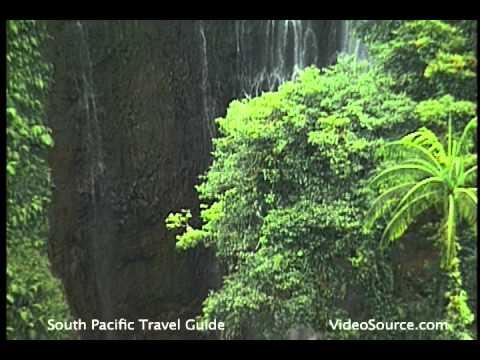 Samoan Jungle and Waterfalls