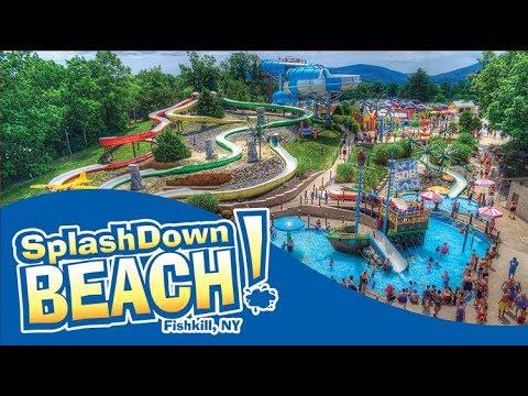 All Rides At Splashdown Beach 2019!!