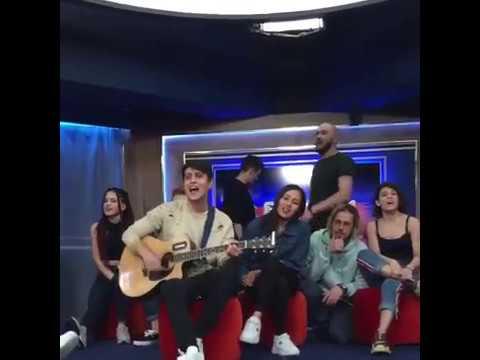 Гимн шоу ПЕСНИ ТНТ (под гитару)