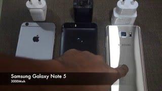 fast charging comparison nexus 6p vs galaxy note 5 vs iphone 6s plus
