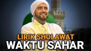 New Sholawat Waktu Sahar