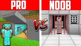 Minecraft NOOB vs. PRO: PRISON ESCAPE in Minecraft Animation
