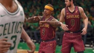 NBA Live 18: Celtics vs Cavs - New Intro + Crazy Finish