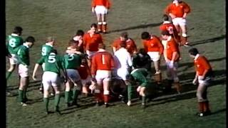 WALES V IRELAND 1983 - CARDIFF ARMS PARK - RUGBY INTERNATIONAL