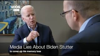 "Media Lies About Biden's Memory = Calls it a ""STUTTER"" LoL (K-von shows you've been tricked)"