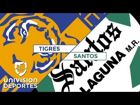 De la mano de Gignac y Sosa, Tigres sumó ante Santos su primer triunfo del Clausura 2018