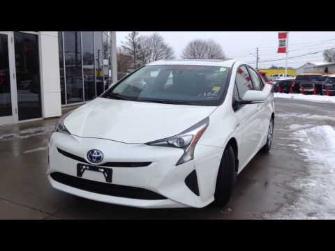 NEW 2017 Toyota Prius Technology Advanced Package Review / 1000 Islands Toyota Brockville