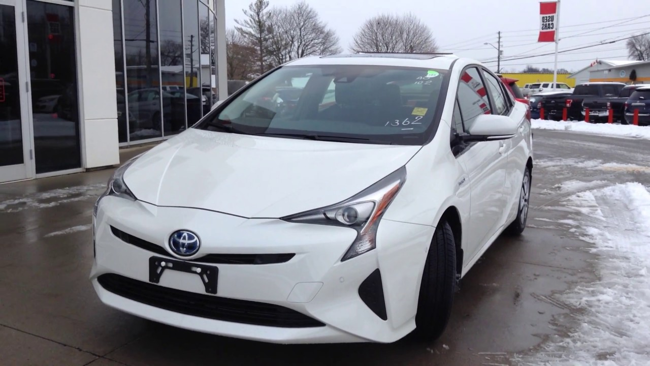 New 2017 Toyota Prius Technology Advanced Package Review 1000 Islands Brockville