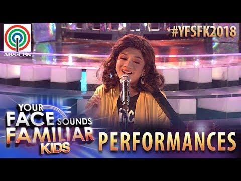 Your Face Sounds Familiar Kids 2018: Marco Masa as Moira Dela Torre   Titibo-tibo