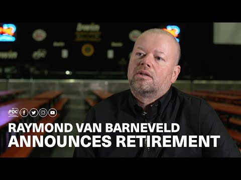 Raymond van Barneveld announces retirement